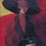 "Lap of Luxury, 30""x 24"", painting by Rita Orr"